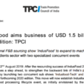 IndusFood aims business of USD 1.5 billion in 2020 edition: TPCI